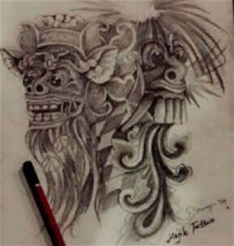 sket tattoo barong bali pinterest the world s catalog of ideas