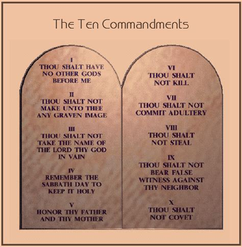 10 Commandments For A Lifelong Friendship by New Meditates Ten Commandments During Sunday Service