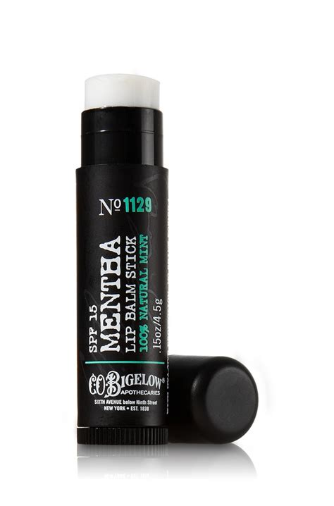 Review Co Bigelow Ultra Mentha Lip Shine by Bath Works C O Bigelow Spf 15 Mentha Lip Balm