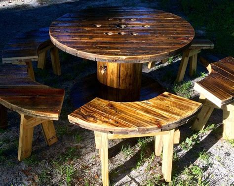 wire spool bench 25 best ideas about spool tables on pinterest cable spool ideas wooden spool