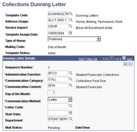 Meaning Of Dunning Letter by Working Collection Items