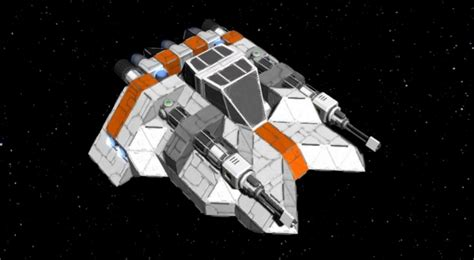 Space Engineers Gets Star Wars Snowspeeder, Halo Covenant