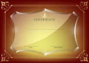 Red certificate template png image