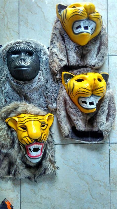 jual topeng macan harimau sido dadi