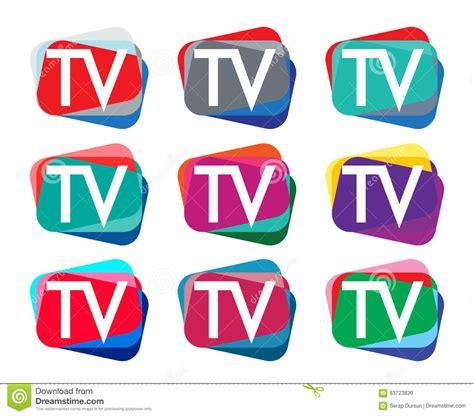news logo template media and tv news logo design template vector