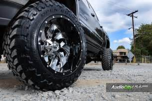 Custom Hd Truck Wheels 22x14 Fuel Cleaver Wheels Custom 2 Rims On 2015 Gmc