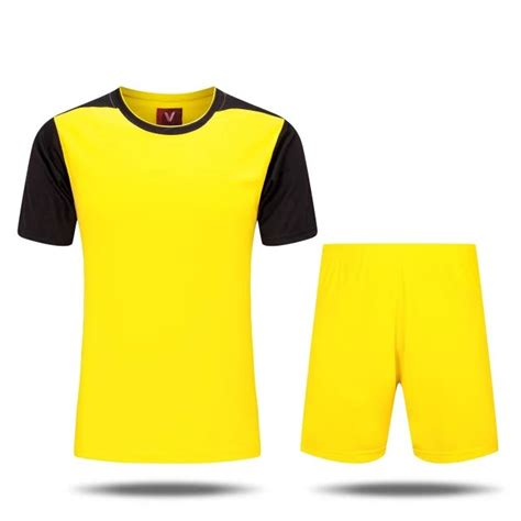 Desain Jersey Vilour | plain soccer jersey custom name number short sleeve jersey