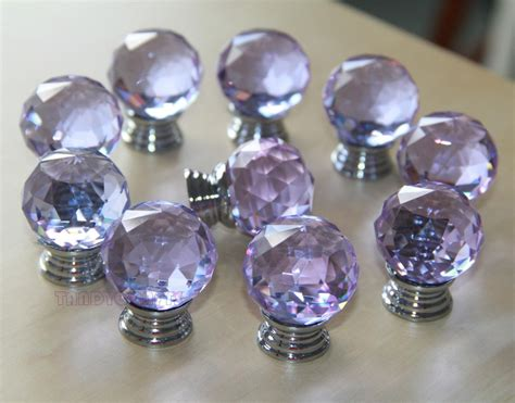 Purple Drawer Knobs by 8 Pcs Purple Knobs Dresser Drawer Knobs Pulls
