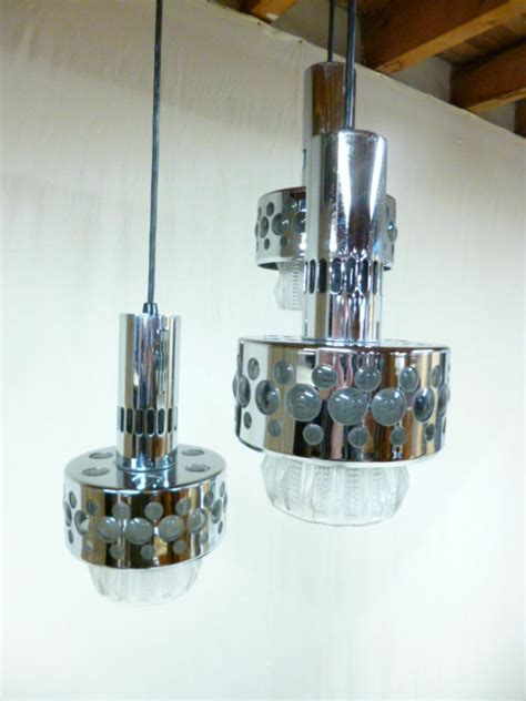 luce a soffitto luce a soffitto cromato mcm antiquites