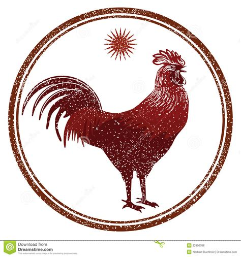 rooster signs royalty free stock photos image 22896098