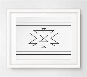 navajo print aztec home decor by melindawooddesigns
