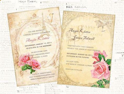 free printable victorian invitation 2 digital printable vintage wedding bridal shower party