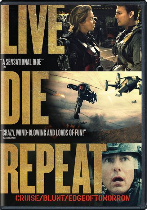 Live Die Repeat edge of tomorrow dvd release date october 7 2014