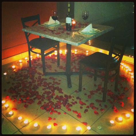 ideas cena romantica en casa oltre 25 fantastiche idee su sorpresa romantica su