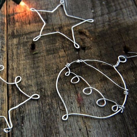 diy wire frame christmas decorations 10 ideas about wire ornaments on diy ornaments crafts and wire crafts