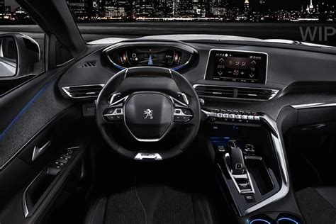 peugeot 3008 2016 interior peugeot 3008 gt nuevo acabado deportivo