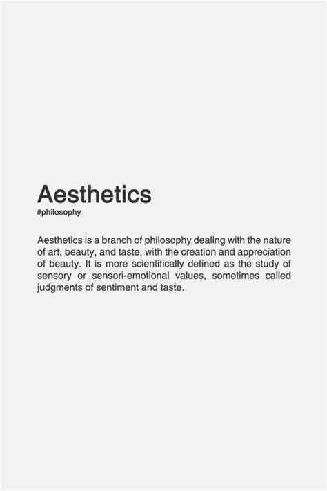 design philosophy definition best 25 definition of aesthetic ideas on pinterest
