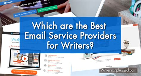 what are the best providers which are the best email service providers for writers