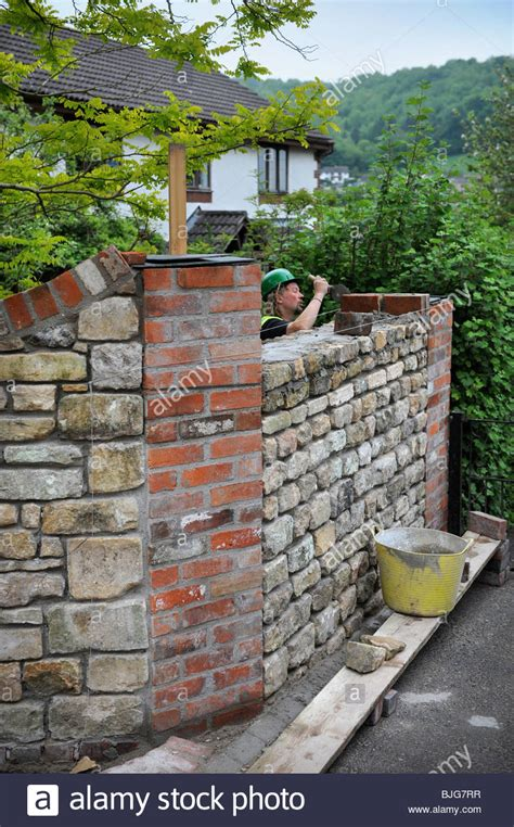 building a garden wall building a garden wall with cotswold and cement
