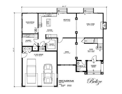 floor plans for a house belize