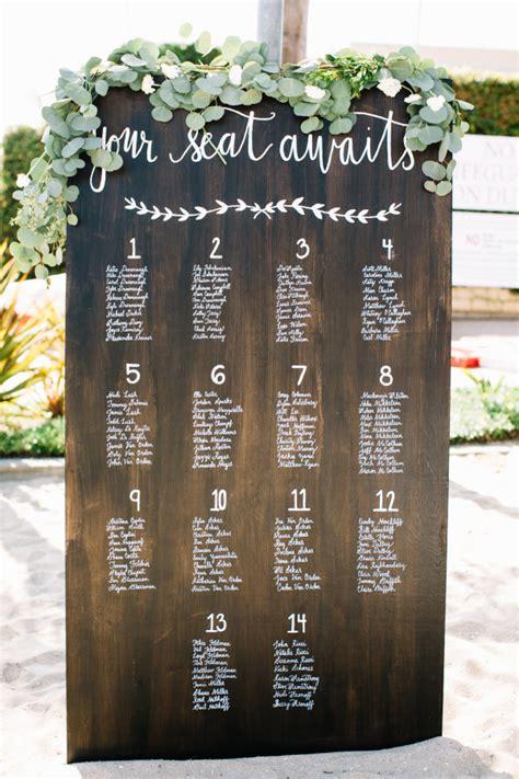 seating chart wedding 50 beautiful rustic wedding ideas
