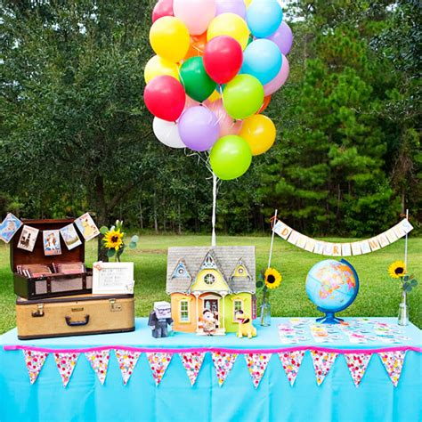 up themed birthday party real parties up themed birthday party hostess with the