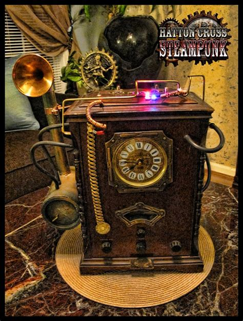 Sewing Ideas For Home Decorating by The Noble Hare Hatton Cross Steampunk Steampunk Home Decor