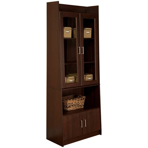 glass door bookcase cabinet choosing bookcases with glass doors doherty house