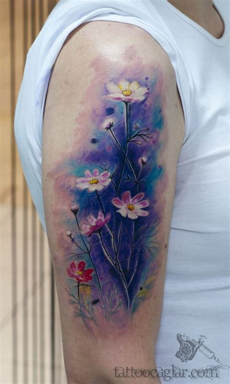 watercolor tattoo new hshire top 14 medium size watercolor tattoos realistic
