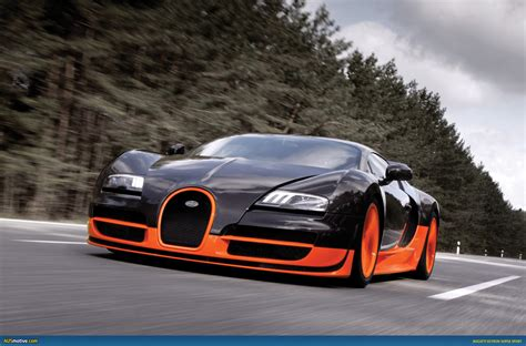 Bugati Vyron by Ausmotive 187 Bugatti Veyron Sport Sets New