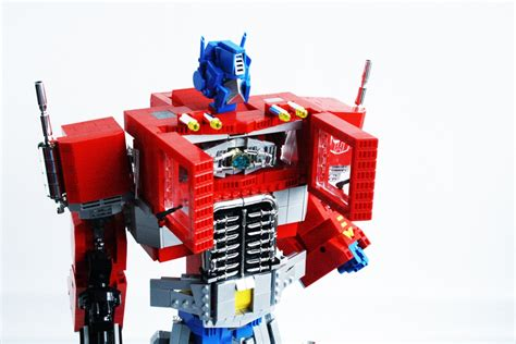 Transformer Optimus Prime Lego lego transformers g1 optimus prime replica by pax the brick fan