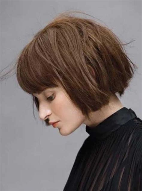 hairstyles for blunt haircut blunt bob with bangs short hairstyles 2018 pinterest