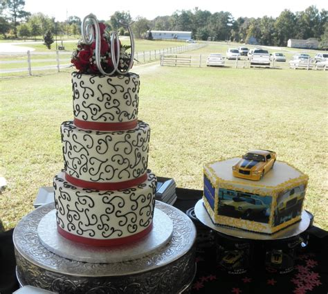 Garden Crafts by Bride And Groom Wedding Cakes Musely
