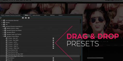 adobe premiere pro presets rant premiere essentials presets for adobe premiere pro
