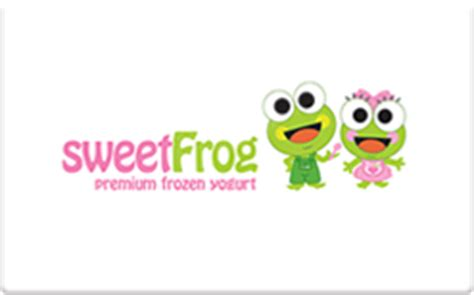 Sweet Frog Gift Card - buy sweetfrog gift cards raise