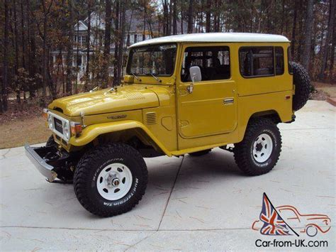 1981 Toyota Land Cruiser 1981 Toyota Fj40 Land Cruiser