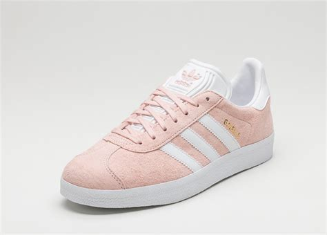 adidas gazelle vapour pink white gold metallic asphaltgold