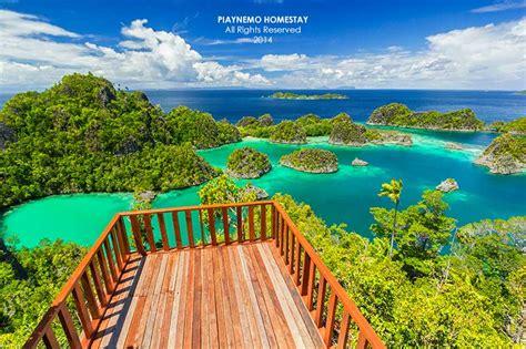wallpaper alam papua raja ampat islands