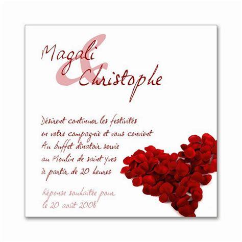 Exemple De Lettre D Invitation Pour Un Mariage Invitation Mariage Design Bild