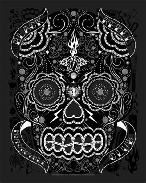 black rebel motorcycle club beat the devil s tattoo black rebel motorcycle club images beat the s