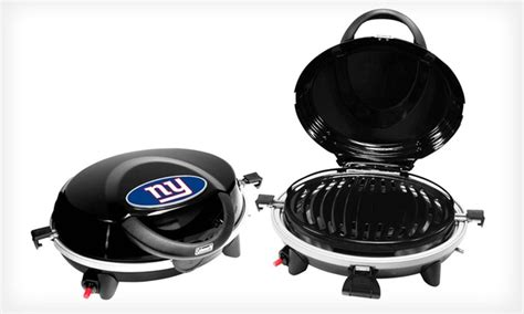 tailgate fan shop coupon coleman nfl tailgating grill groupon goods