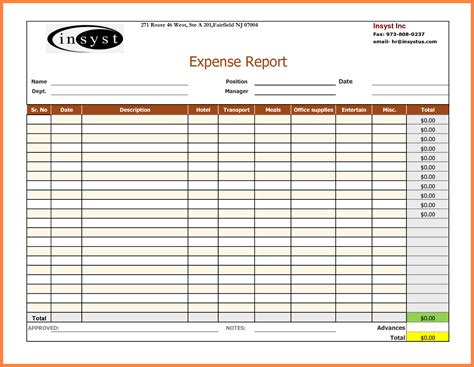 8 Microsoft Office Expense Report Template Progress Report Microsoft Office Templates Excel