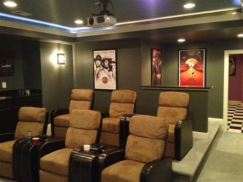 Basement Custom Theater Ashburn Basement Finishing Custom Rooms