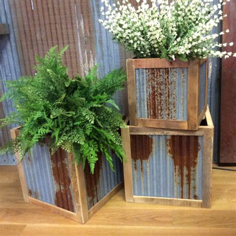 25 best ideas about galvanized planters on
