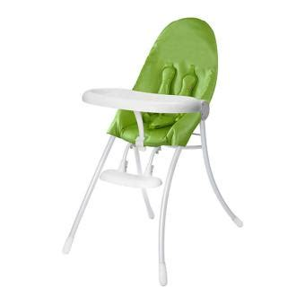 bloom chaise haute nano ch 226 ssis blanc vert pomme