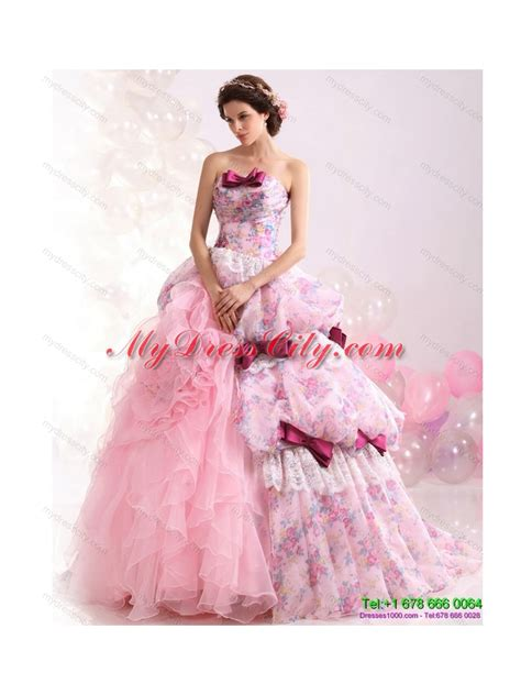 multi color wedding dress multi color gown ruffles colored wedding dresses with