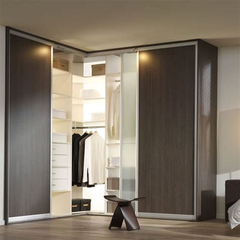 bedroom corner wardrobe designs don t let your closet leave a difficult corner space open