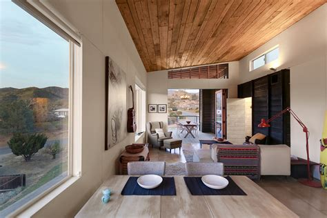Desert Interior Design by Highly Crafted Modern Desert Cabin Idesignarch Interior Design Architecture Interior