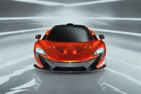 Mclaren P1 Supercar Concept Previews F1 Successor