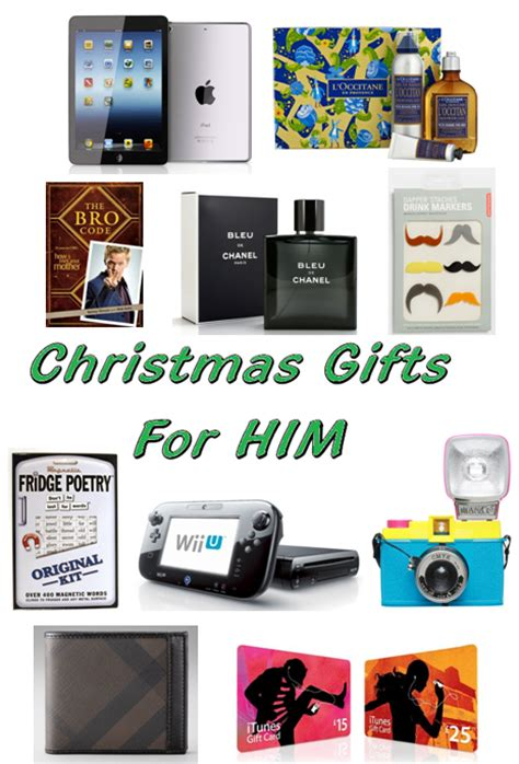 pretty random things christmas gifts for him 2012